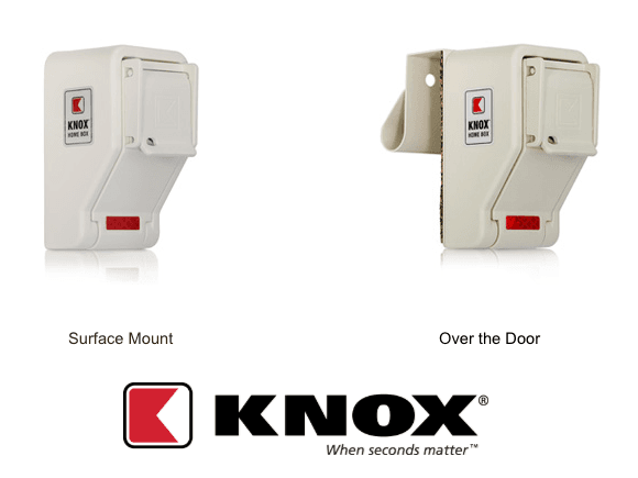 Surface Mount and Over-the-Door Residential Knox Boxes