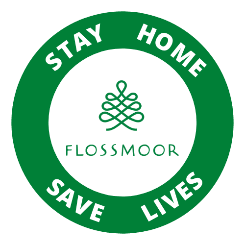 Stay Home Flossmoor logo