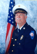 Chief Gregory C. Berk, 1st Full Time Fire Chief