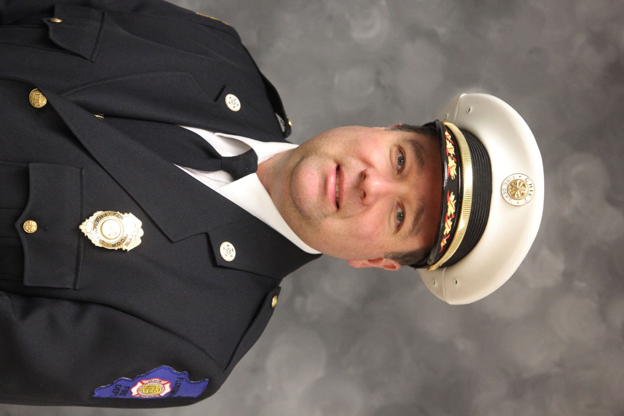 Current Fire Chief Christopher L. Sewell